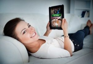 Tablet casino's spelen thuis